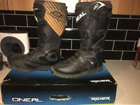 2017 ONEAL RIDER MOTOCROSS/ENDURO BOOTS