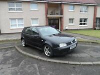 VOLKSWAGEN GOLF GT TDI 02 PLATE 2002 MOT JULY 2018
