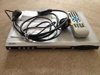 Bush DVD Player including remote and instructions