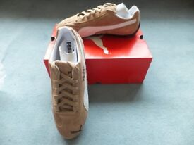 Puma Speed Cats (Size 7/41) in Amphora/White - Puma Speedcats