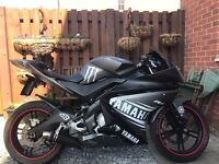 Yamaha YZF 125R, new grey body work, NEW ENGINE.