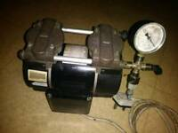 GAST Twin cylinder compressor and vacuum pump