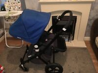 Bugaboo cam 2 with 3 fabric