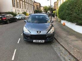 PEUGEOT 307 - GREY - 1600CC - LOW MILEAGE