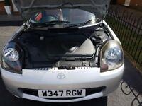 MR2 roadster for sale.excellent condition.red leather interior