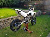 Yx160cc pit bike