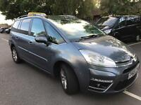 Citroen C4 Grand Picasso (7 Seater) Taxi Licenced