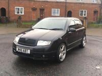 Skoda Fabia VRS , Remapped , 3 owner , cheap , px or swap , ( not gtd , gti , Audi , Seat or Vw Ford