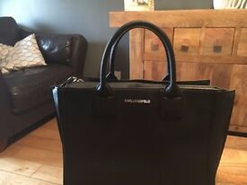 Original Karl Lagerfield black handbag