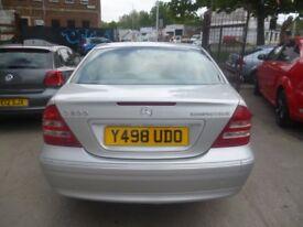 Mercedes C200 Kompressor Elegance Auto,4 door saloon,full MOT,showroom condition,only 53,000 miles