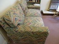 2 seater SOFA and pull out DOUBLE BED