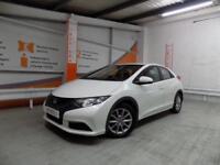 Honda Civic I-VTEC SE (white) 2013-06-14