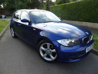 BMW 120 SE 120D FULL SERVICE HISTORY 6 SPEED NOT 118 320 AUDI A4 VAUXHALL ASTRA FORD FOCUS VW GOLF