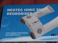 NEOTEC IONIC SHOE DEODERISER (New & Boxed)