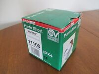 "VORTICE PUNTO GHOST MG100/4"" In line extractor fan new, unused, in box."