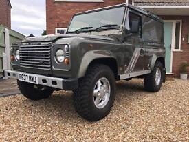 Defender 90 300TDI COUNTY,Metallic Willow Green