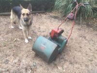 Suffolk colt lawnmower with grass box. Good working order ready for use