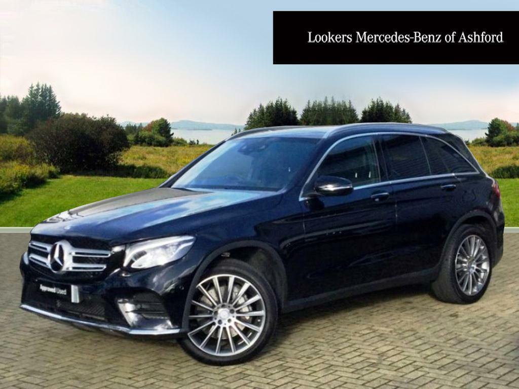 mercedes benz glc class glc 250 d 4matic amg line premium plus black 2016 06 28 in ashford. Black Bedroom Furniture Sets. Home Design Ideas