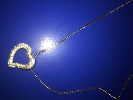 Swarkosvki heart necklace