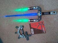 Star Wars Bladebuilders Jedi Master lightsabre