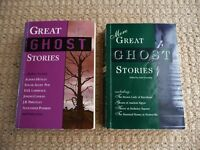 Great Ghost Stories and More Great Ghost Stories Ghost Story Books Joseph Conrad M.R. James etc