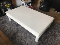 Large Solid wood coffee table - Annie Sloan