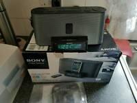 SonyICF-C1IPMK2 Speaker Dock and Clock Radio