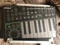Roland System 1 plugout Synthesizer with Sh-101 plug out installed boxed as new