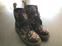 Dr. Martens Castel Fine Canvas Boots