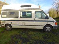 Autosleeper Duetto Camper. 1994 Ford Transit. Diesel.