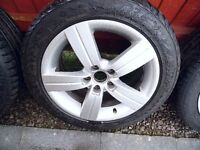 Audi TT mk2 alloy wheels 2 only 225 50 17
