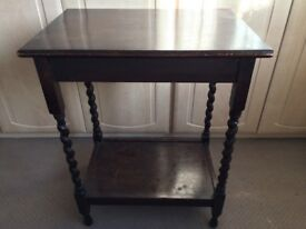 Spindle Legged Occasional Table