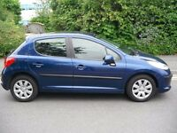 PEUGEOT 207 5DOOR +3MONTH WARRANTY