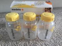 Medela breast milk bottles