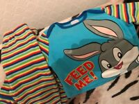 Baby Bugz Bunny PJ Set 3-6 Months