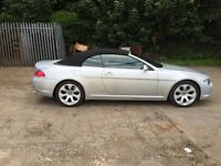 BMW 645 CI Convertible (11k Extras)