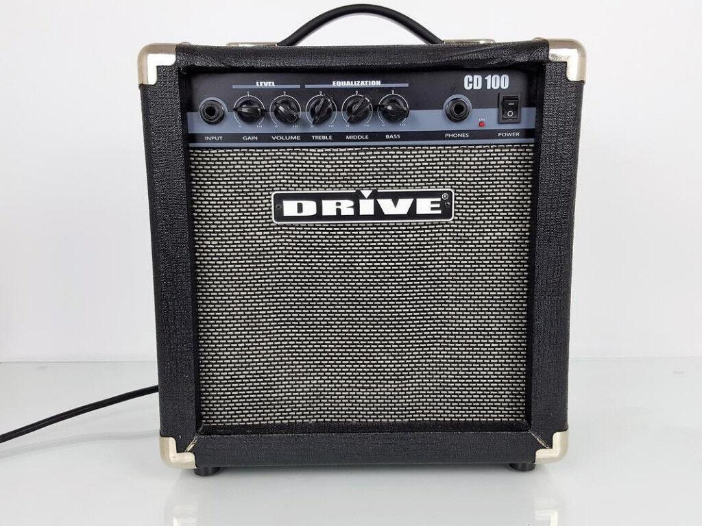 DRIVE CD100 GUITAR PRACTISE AMPLIFIER.