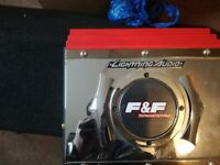 """Lightning AudioThe Fast and the Furious"""" Loaded Sub Box with Dual 10"""" Drivers and 450W Amp"""