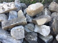 Sandstone for sale. Clean large peices ready to uplift
