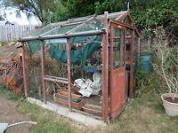 Wooden Greenhouse 240 cm x 196 cm