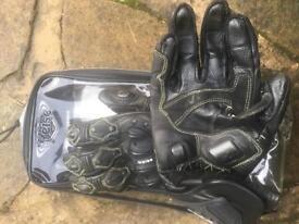 Weise motorbike gloves