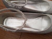 Monsoon older girls party shoe size 4