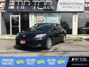 2011 Toyota Corolla CE ** Automatic, Low KMs, A/C, Reliable, Fue
