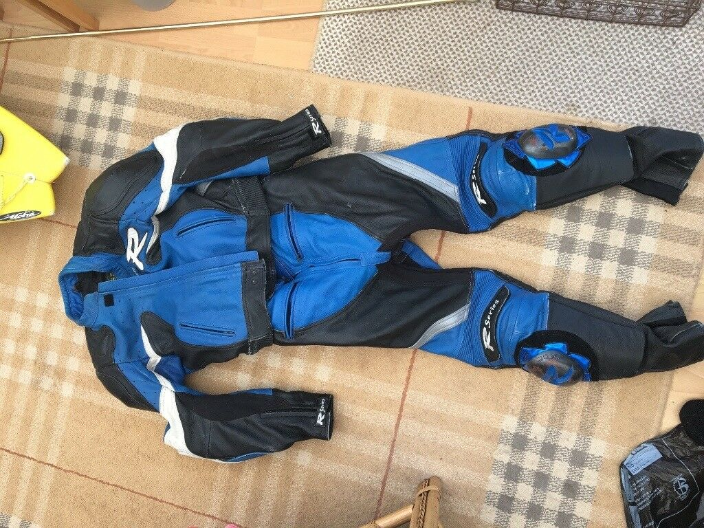Frank Thomas 2 piece Kevlar and memory foam motorbike leathers
