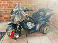 Kids Electric Batman Bike / Trike - Good condition