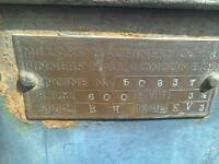 Bamfords donkey engine