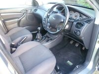 2004 1.8 TDCi Ford Focus Zetec silver for sale - won't start, needs repair or for parts