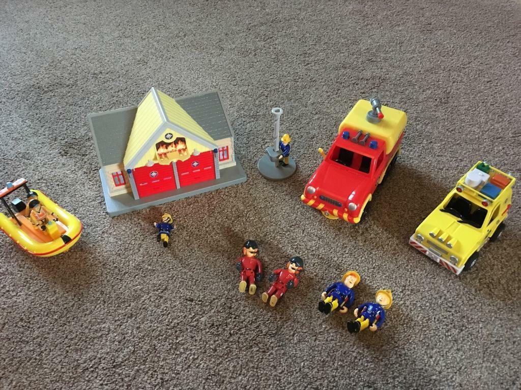 Fireman Sam play sets