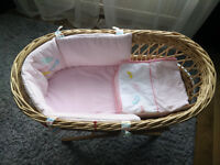 Moses basket Toys R us !!! EXCELLENT condition !!!