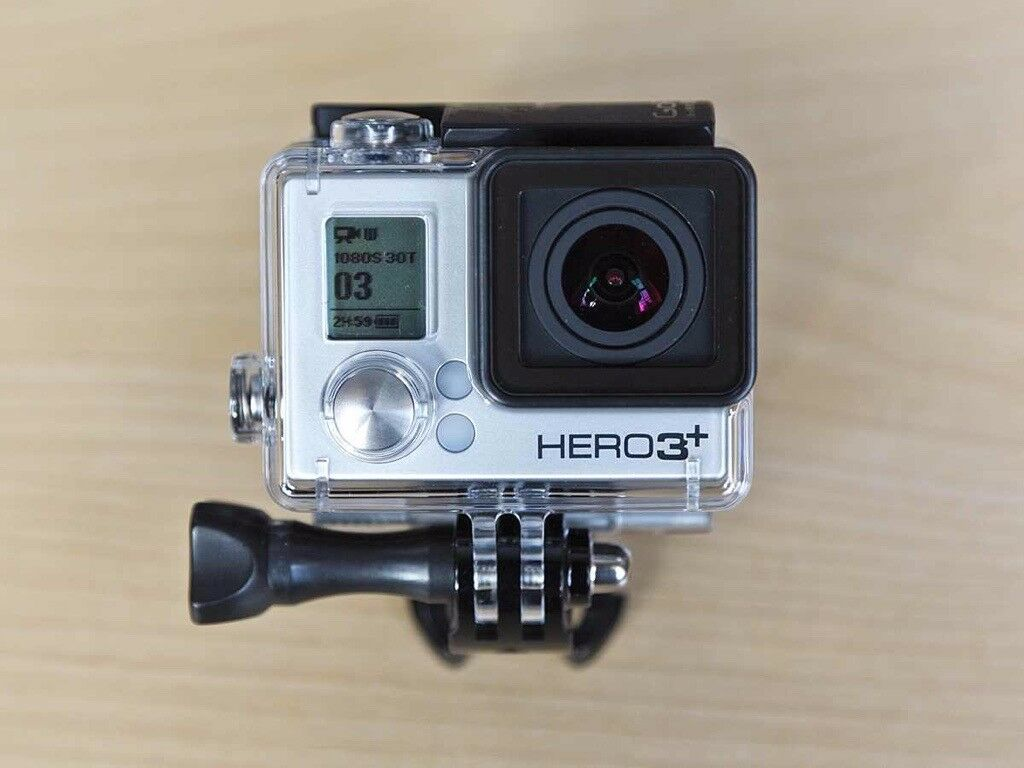 Gopro Hero 3 Full Hd Action Camera With Accessories In